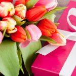 KV- Een bosje tulpen…